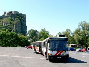 How to get to Devín Castle by public transport