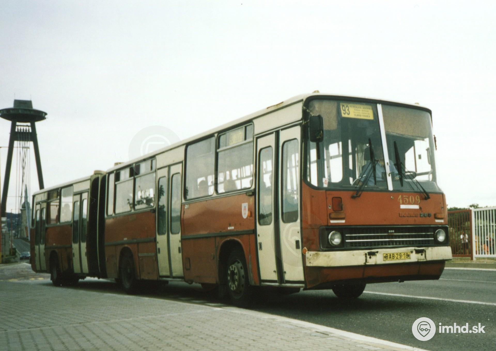 Ikarus 283 4509 Bratislava