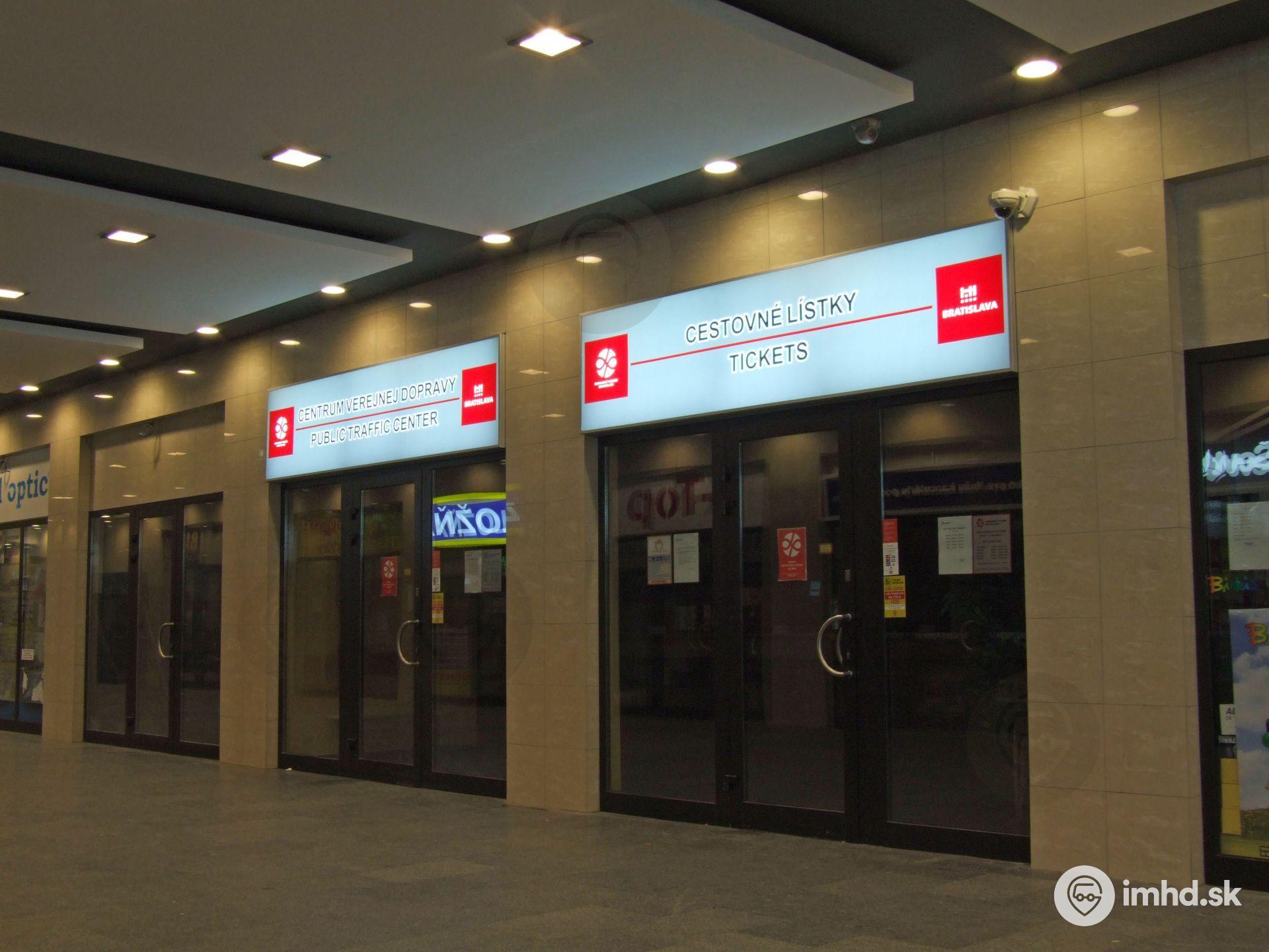 Predajne cestovných lístkov a e-shop • imhd sk Bratislava