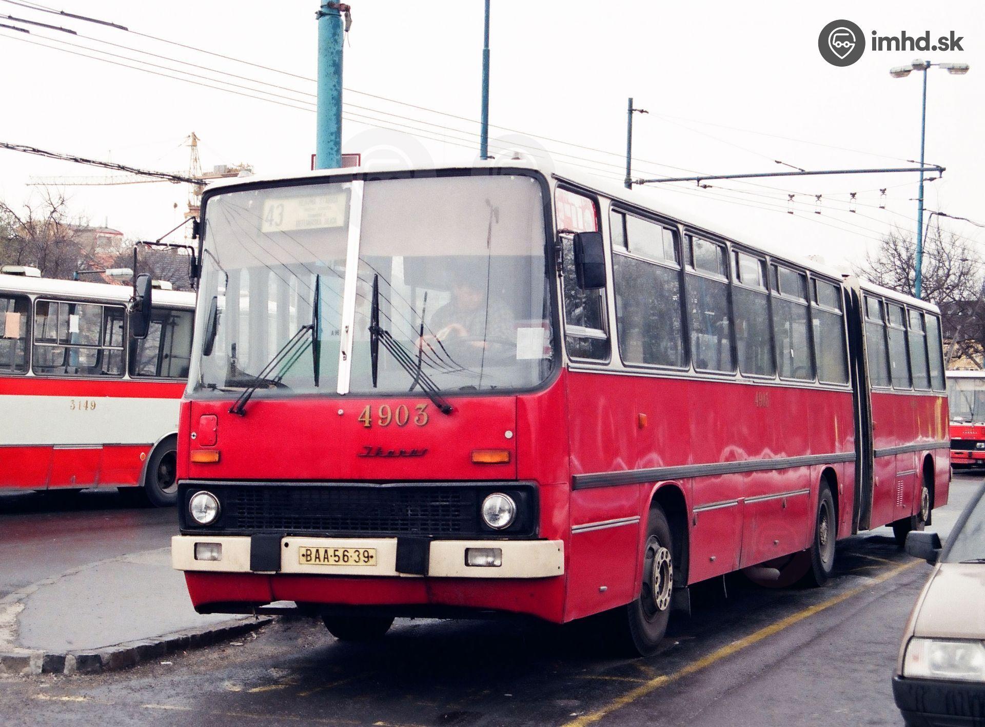 Ikarus 280 4903 Bratislava