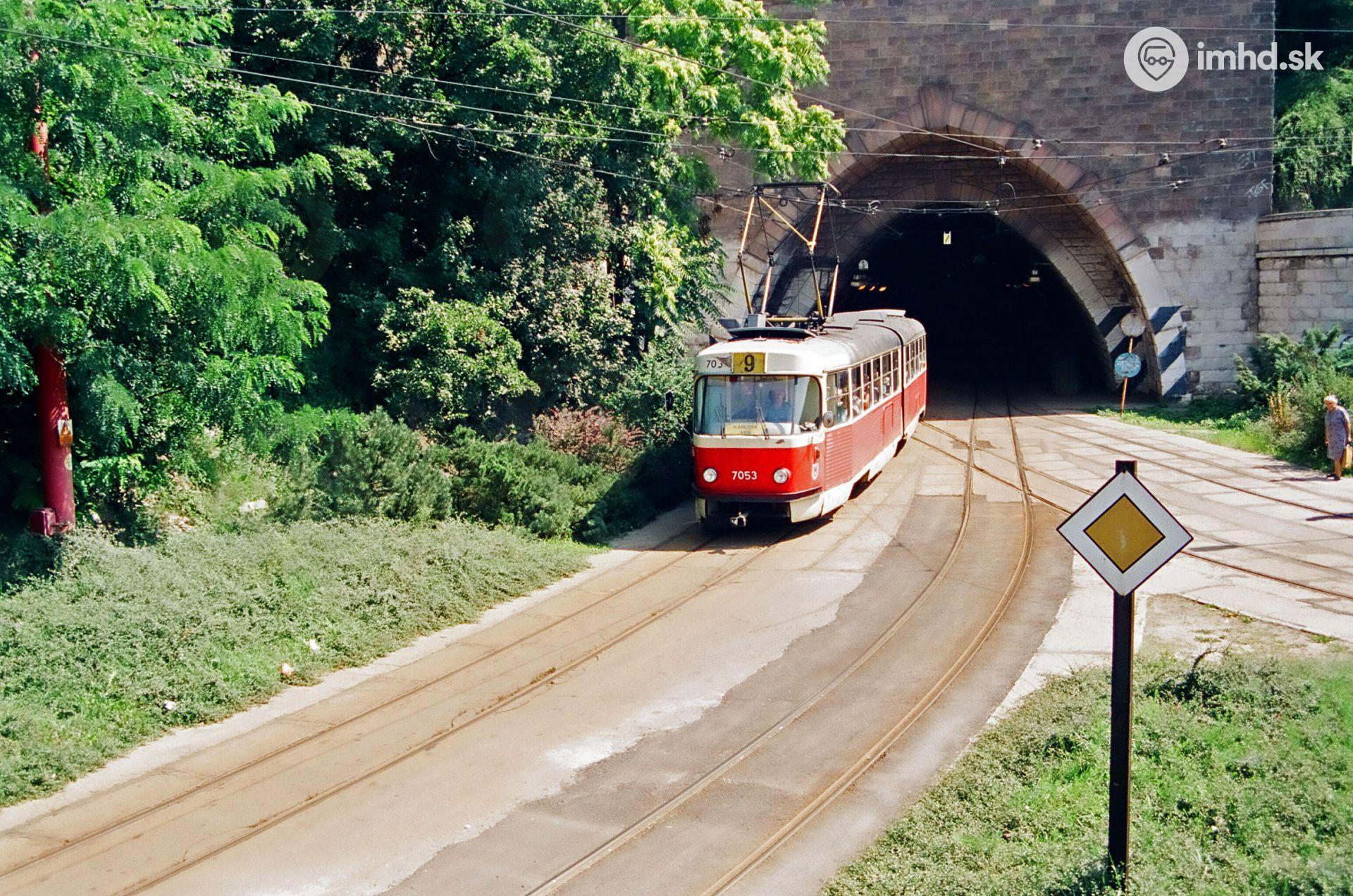 Zmeny v električkách po otvorení tunela od 1 5 2013 • imhd