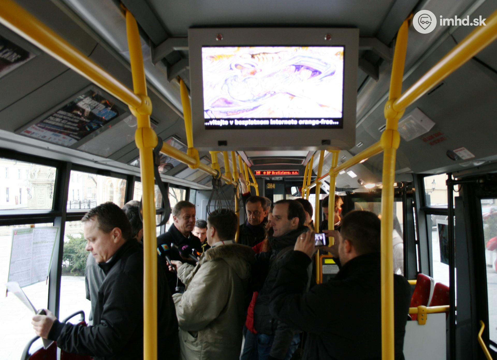Wi-fi internet sa vracia do autobusov MHD • imhd.sk Bratislava