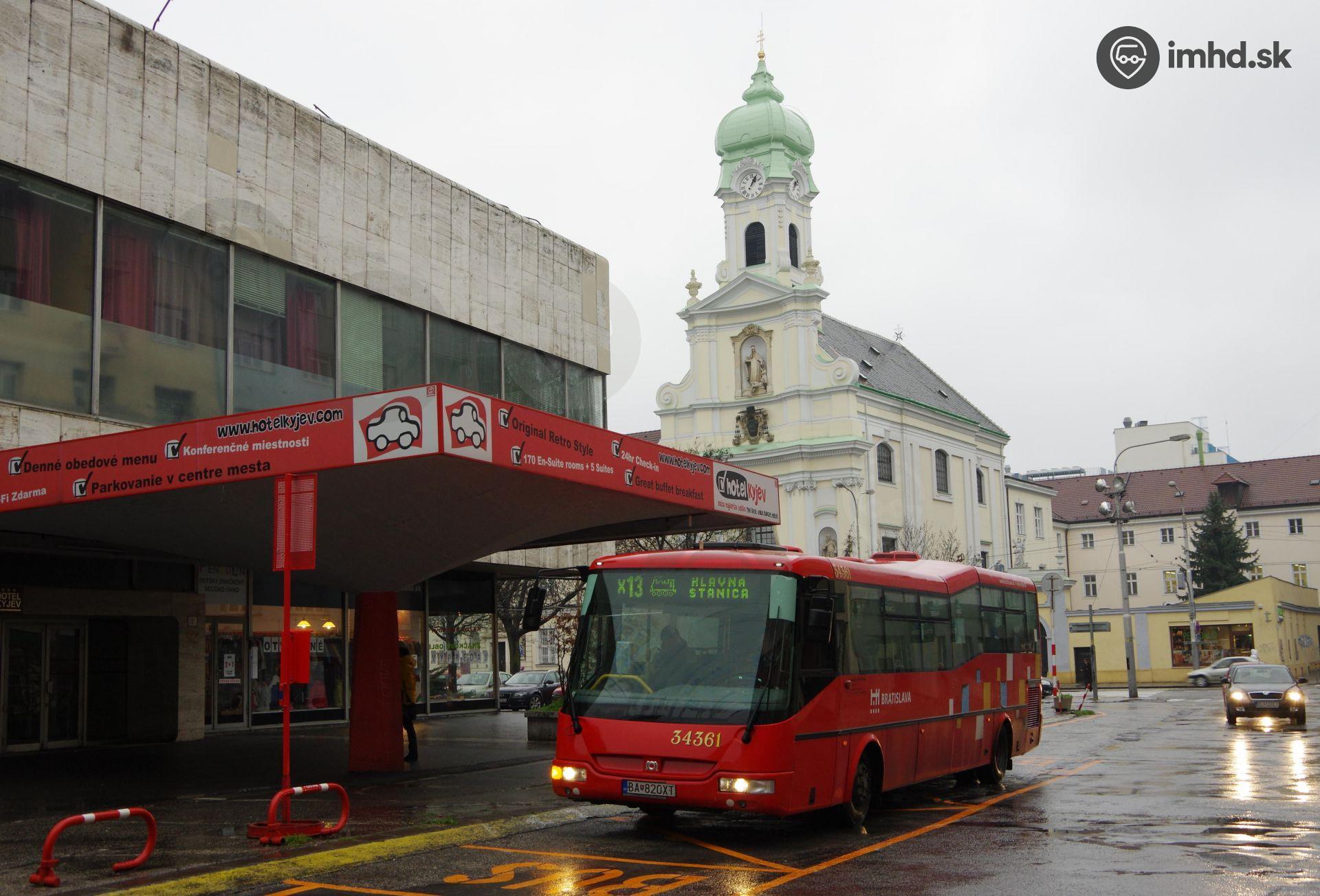 fa8c6bfc1b Dlhodobá výluka MHD na Štúrovej a Šafárikovom námestí (od 20.1.2014) •  imhd.sk Bratislava