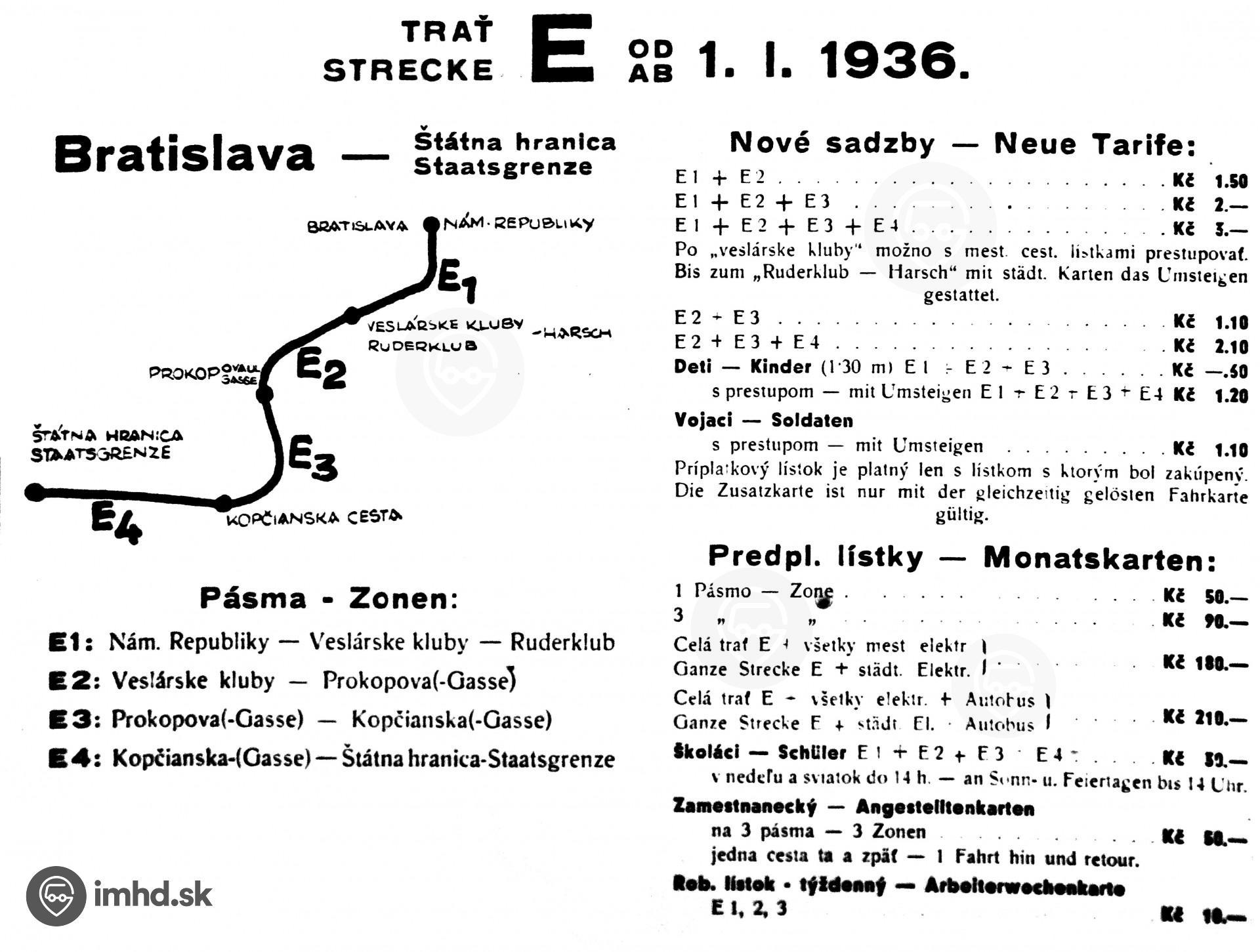 41009d49f História bratislavského úseku Viedenskej električky • imhd.sk Bratislava