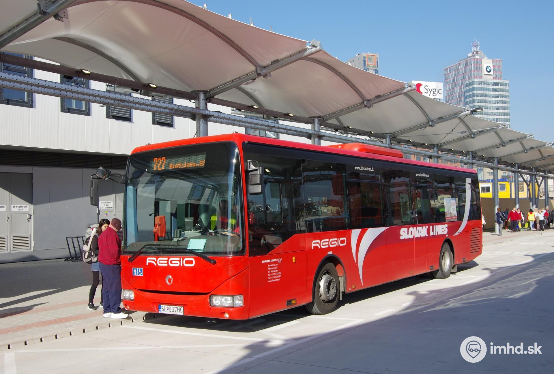 Náhradná autobusová stanica Mlynské nivy bola uvedená do prevádzky •  imhd.sk Bratislava e434ebc74f3
