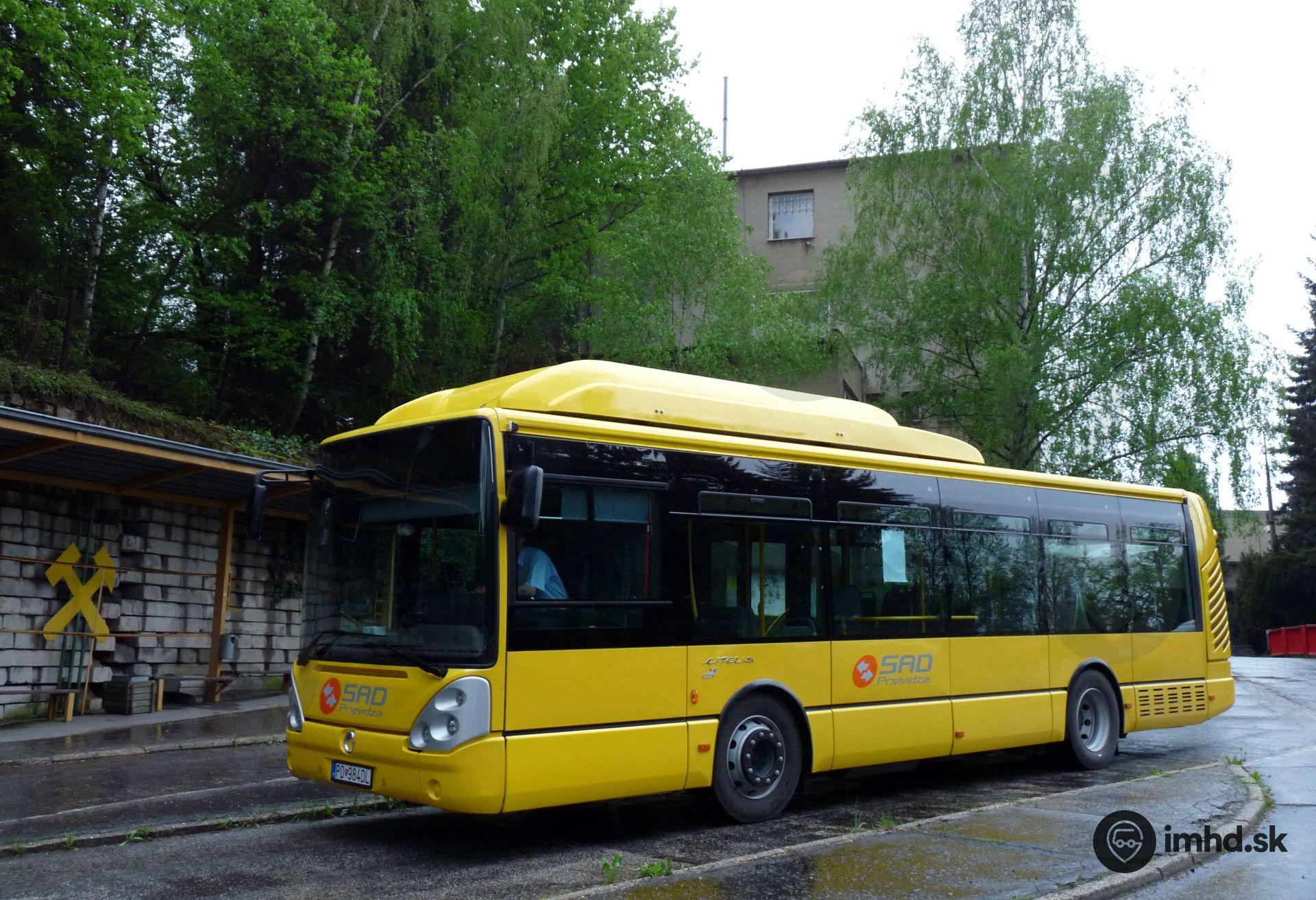 6cd04a128 MHD Prievidza & Bojnice • imhd.sk Banská Bystrica