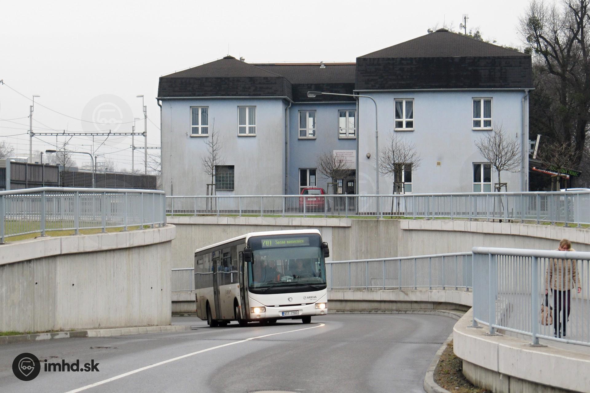 5T7 7103, route 701, Lyžbice • imhd sk Banská Bystrica