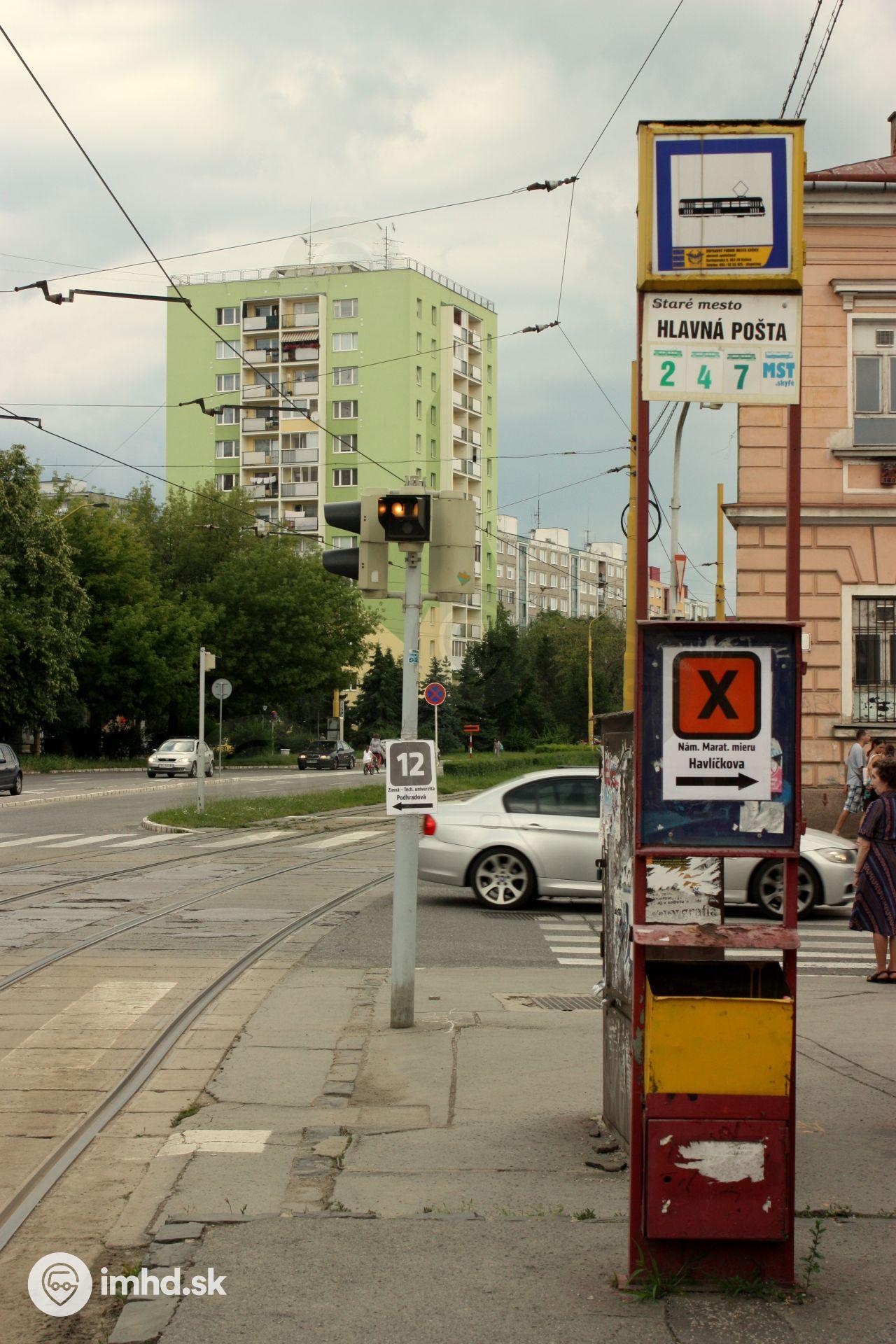 532ce14d46 Navigácia na zastávke • imhd.sk Košice