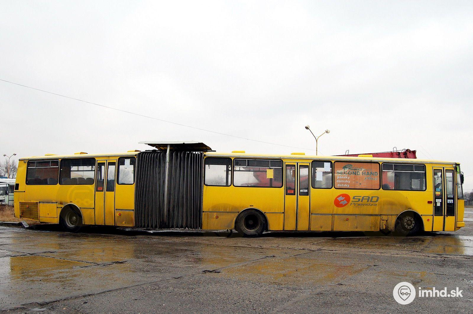 78ea5e4db Prímestský kĺbový autobus zaradený na linky MHD • imhd.sk Prievidza