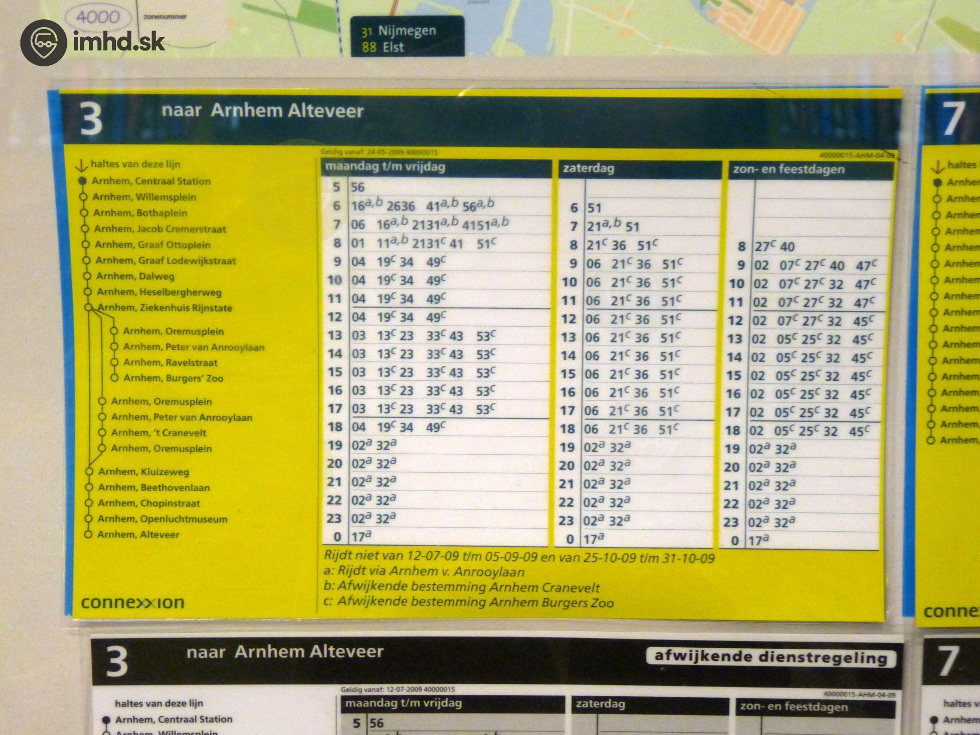 Odchody autobusov zvolen